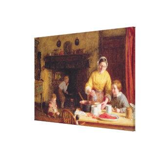 Preserving Jam Canvas Print