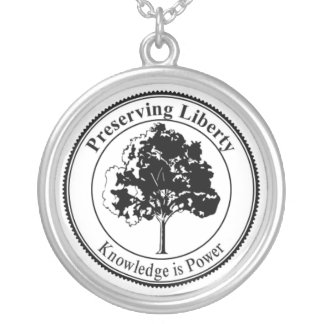 Preserving Liberty Seal Necklace