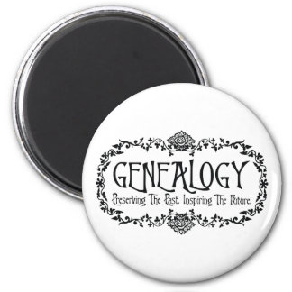 Preserving The Past. Inspiring The Future. 2 Inch Round Magnet