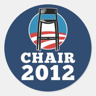 Presida para los pegatinas del presidente 2012