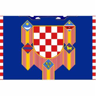 Presidencial la República de Croacia, Croacia Fotoescultura Vertical
