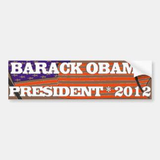 PRESIDENT 2012 CAR BUMPER STICKER