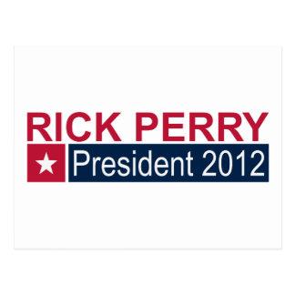 President 2012 Rick Perry Postcard