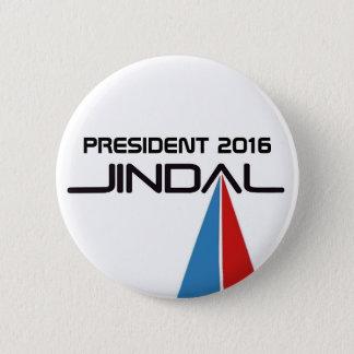 President 2016 Bobby Jindal Button