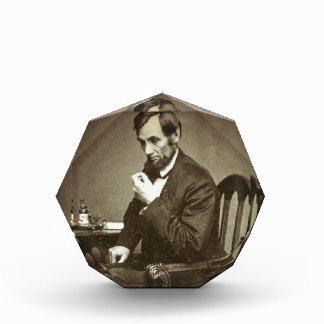 PRESIDENT ABRAHAM LINCOLN 1862 STEREOVIEW AWARD