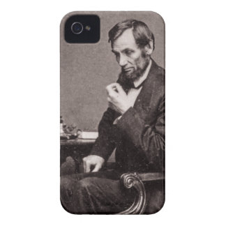 PRESIDENT ABRAHAM LINCOLN 1862 STEREOVIEW iPhone 4 CASES