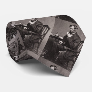 PRESIDENT ABRAHAM LINCOLN 1862 STEREOVIEW TIE