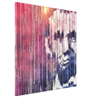 President Abraham Lincoln Abstract Canvas Print