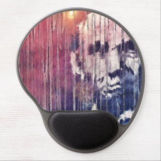 President Abraham Lincoln Abstract Gel Mouse Pad