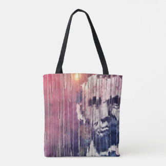 President Abraham Lincoln Abstract Tote Bag