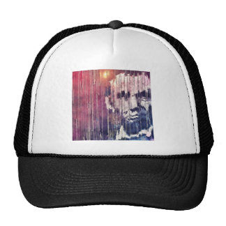 President Abraham Lincoln Abstract Trucker Hat