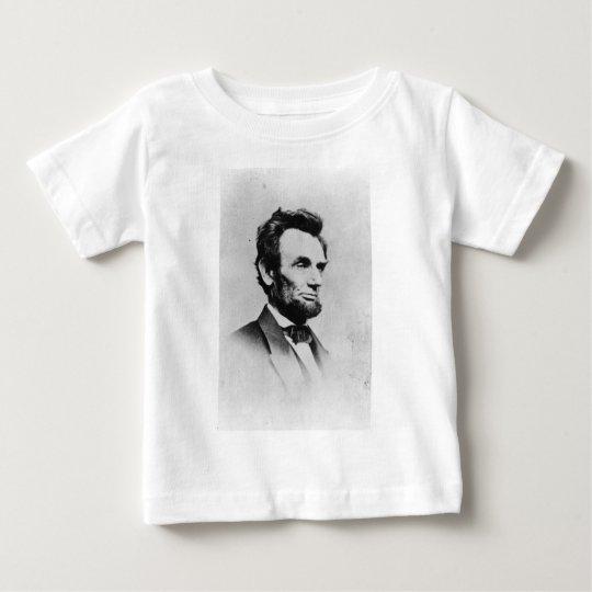 President Abraham Lincoln by Mathew B. Brady Baby T-Shirt