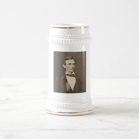 President Abraham Lincoln -- Civil War Beer Stein