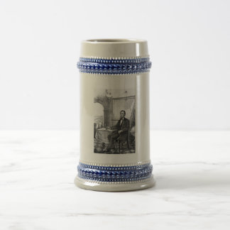 President Abraham Lincoln -- Civil War Beer Stein