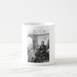 President Abraham Lincoln -- Civil War Classic White Coffee Mug