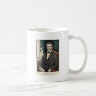 President Abraham Lincoln Color Portrait Kellogg Coffee Mug
