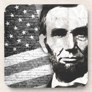 President Abraham Lincoln Drink Coaster