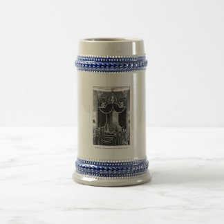 President Abraham Lincoln Lying In State Beer Stein