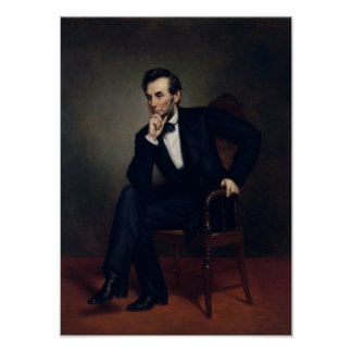 President Abraham Lincoln Painting Poster