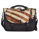 President Abraham Lincoln Patriotic Flag Bags For Laptop