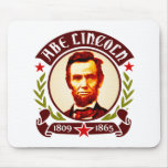 President Abraham Lincoln Portrait Mouse Pads