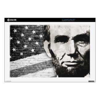 """President Abraham Lincoln 17"""" Laptop Skin"""