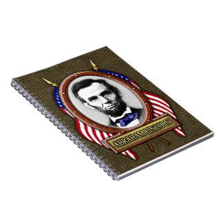 President Abraham Lincoln Spiral Notebook