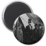 President Abraham Lincoln Visiting Antietam 1862 Magnet