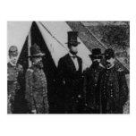 President Abraham Lincoln Visiting Antietam 1862 Post Card