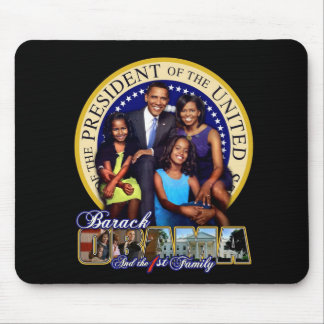 President and 1st Family Mouse Pad