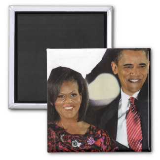 PRESIDENT AND FIRST LADY magnet