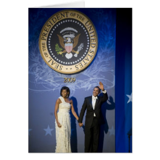 President and Mrs. Obama Greeting Card