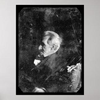 President Andrew Jackson Daguerreotype 1844 Poster