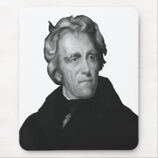 President Andrew Jackson Mouse Pad