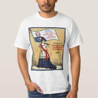 President Andrew Johnson 1868 Election (Light) Shirt