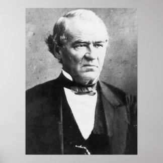 PRESIDENT ANDREW JOHNSON Portrait Print