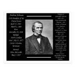 President Andrew Johnson Post Cards