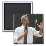 President Barack answers questions about the 2 Inch Square Magnet