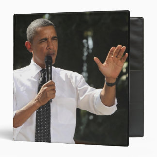 President Barack answers questions about the 3 Ring Binder