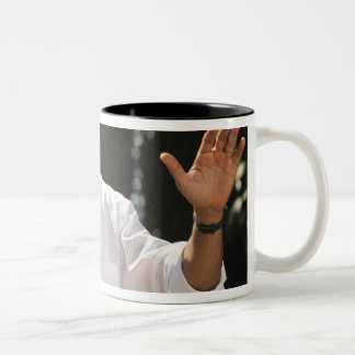 President Barack answers questions about the Two-Tone Coffee Mug