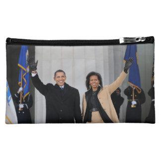 President Barack & Michele Obama Cosmetic Bag