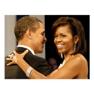 President Barack & Michele Obama Postcard
