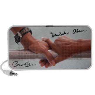 President Barack & Michele Obama's Hands Portable Speaker