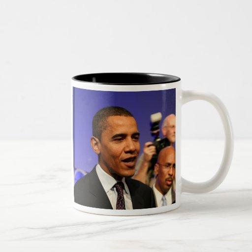 President Barack Obama 15 oz Black inside Mug
