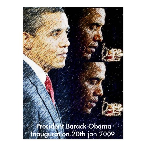 president_barack_obama_2009_inaguration postales