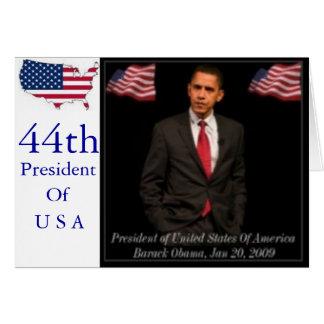 President Barack Obama 2009_Inaguration_Posters_pr Card