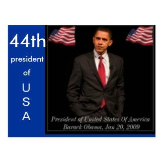 President Barack Obama 2009_Inaguration_Posters_pr Postcard