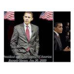 President Barack Obama 2009 Postcards
