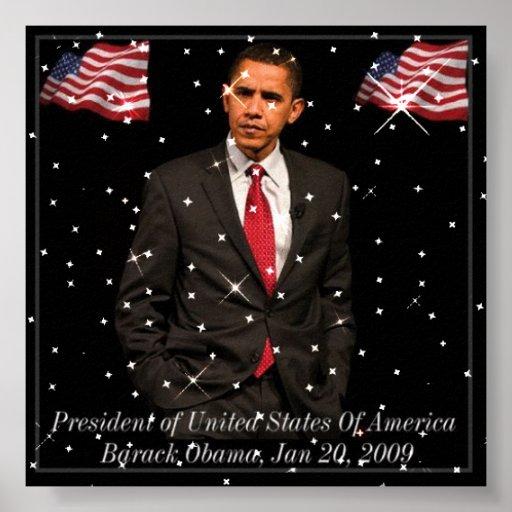President Barack Obama 2009 poster