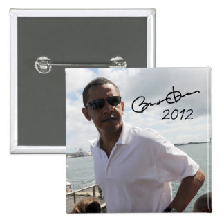 President Barack Obama 2012 Button